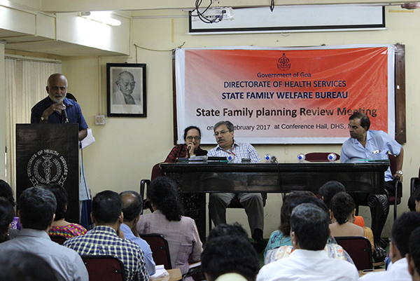 Family planning annual state review workshop Goa.