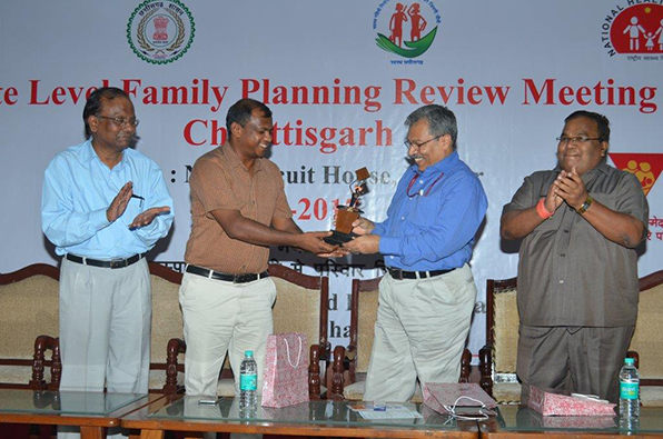 State level family planning review meeting concludes in Chhattisgarh.