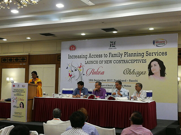 Jharkhand supports government in efforts to launch two new contraceptives.
