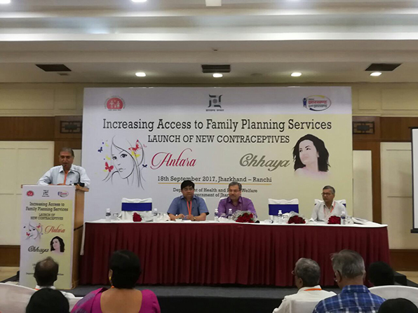 Jharkhand supports government's efforts in increasing access to FP services – launches two new contraceptives.