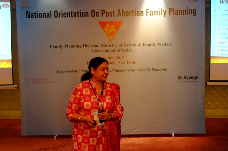 National Orientation for Promotion of Post-abortion Family Planning.