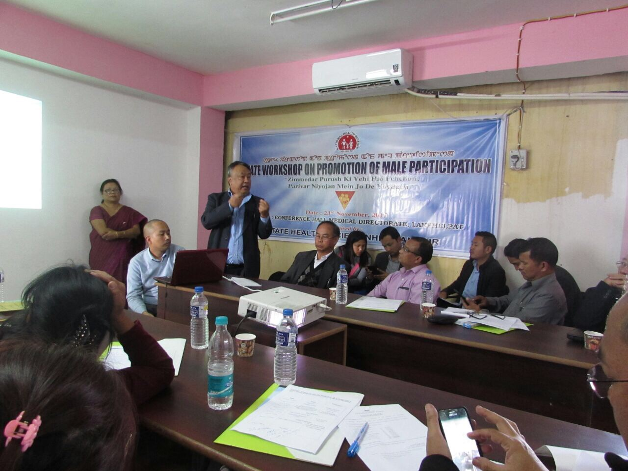 Manipur organizes state level workshop for promotion of male participation in family planning.