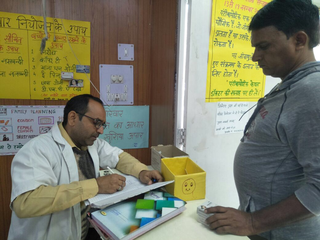 NSV promotion actives undertaken across various facilities in Delhi.
