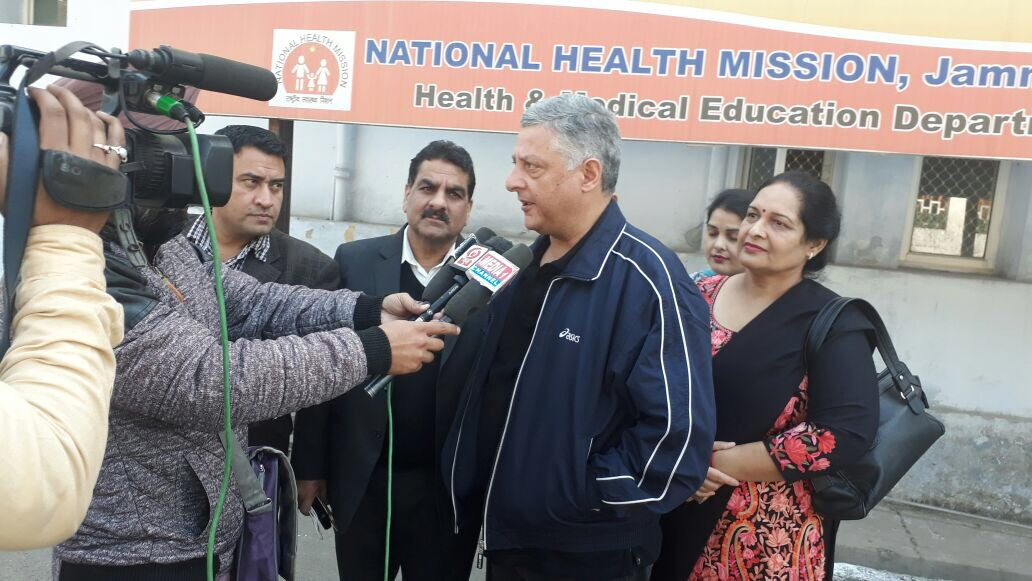 Director, Family Welfare, J&K interacts with media on the need for greater male engagement in family planning and the advantages of opting for NSV.