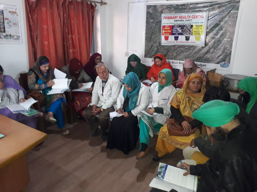 Field level workers from across districts in J&K are sensitising the community on NSV and the need for greater male engagement in family planning.