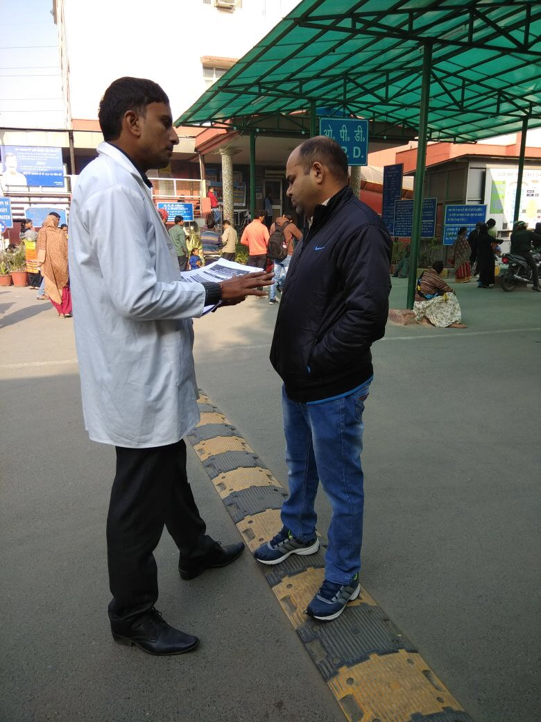 Pawan Kumar, PHN, South-West district, Delhi proactively motivates men to opt for NSV as the National Capital observes Vasectomy Fortnight.