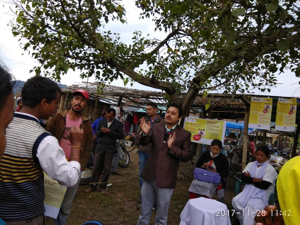 Public awareness meetings on NSV held in Lakhimpur district, Assam.