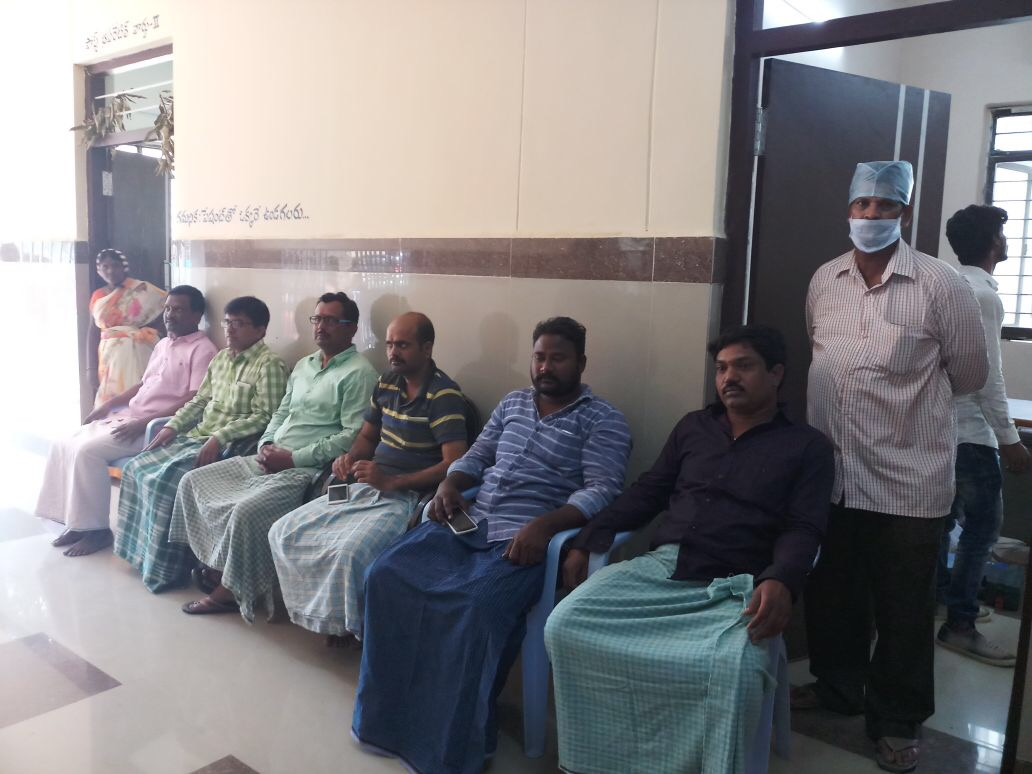 Providers and community health workers are motivating men in the community to take charge as responsible partners and opt for NSV as Telangana observes Vasectomy Fortnight.