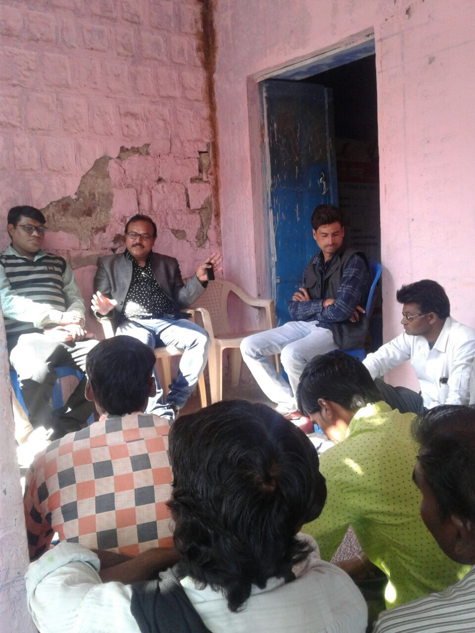 Group discussions and meetings on NSV and the need for greater male engagement held aross districts in Rajasthan.