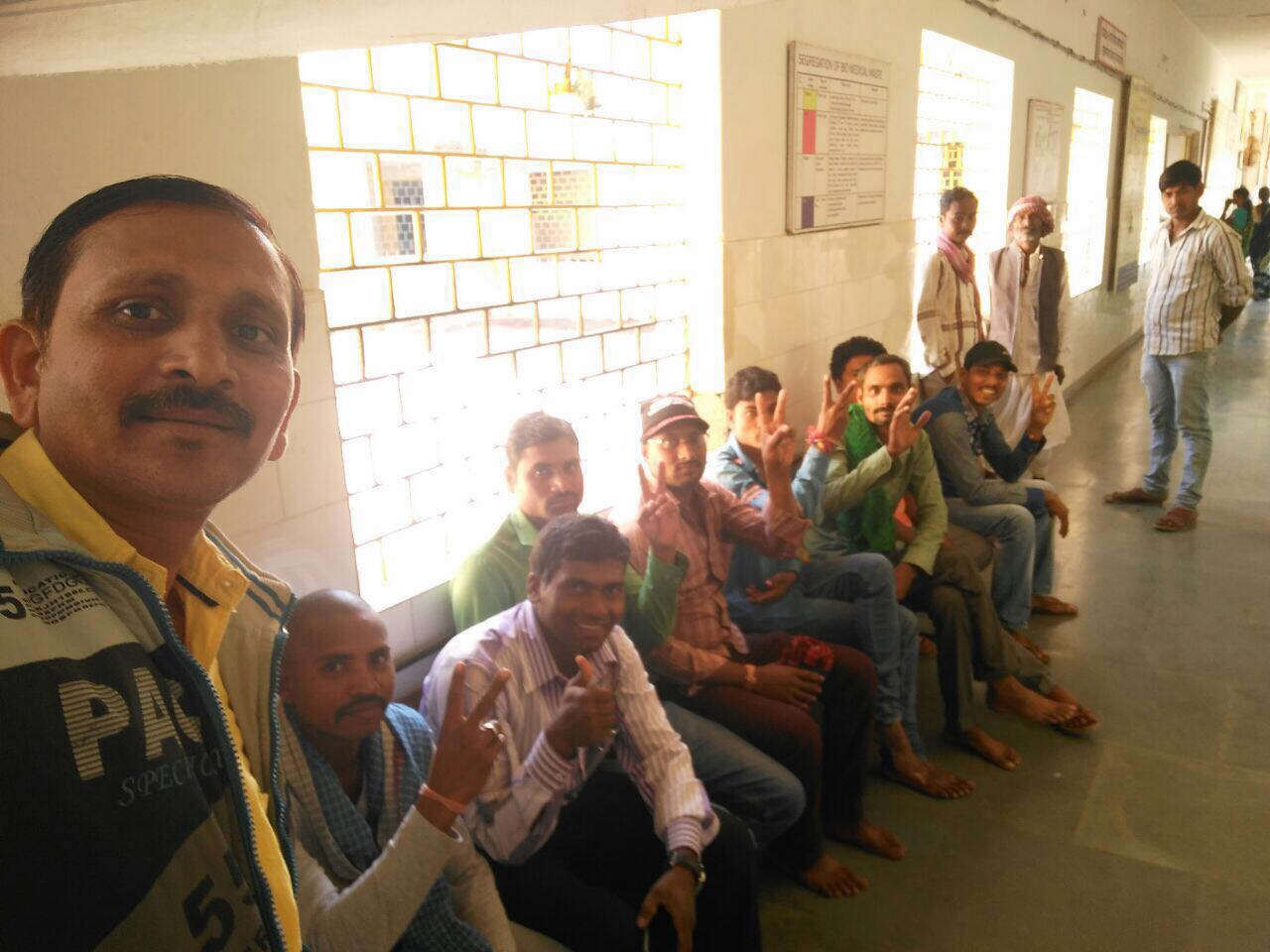 Happy clients after opting for NSV in Chhattsigarh as state observes Vasectomy Fortnight.