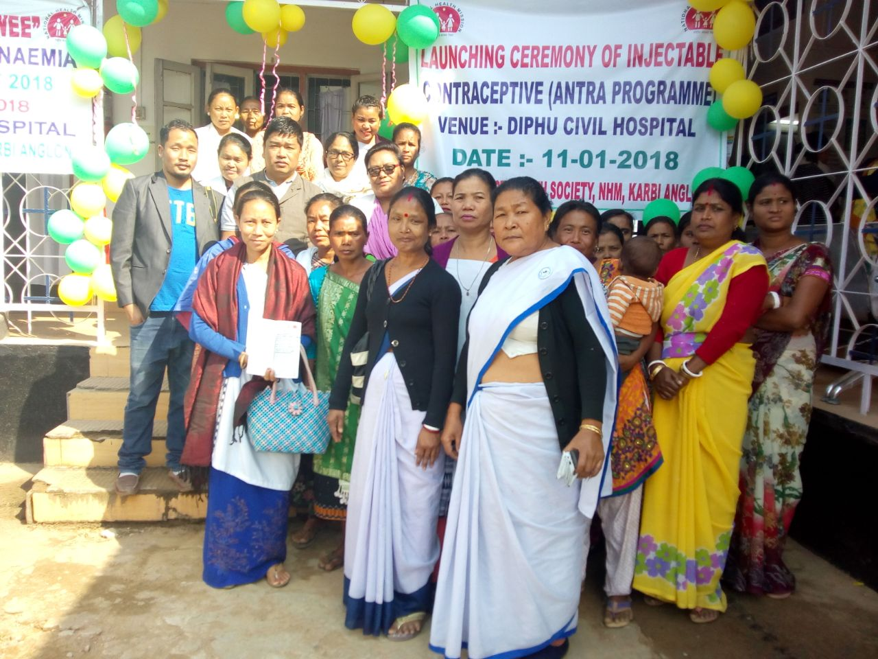 Injectable Contraceptive (MPA) launched at Diphu Civil Hospital, Karbi Anglong and Civil Hospital, Goalpara in Assam.