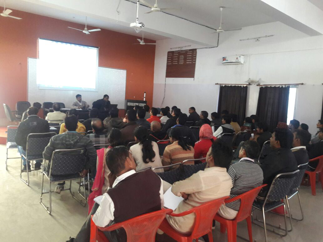 Training on FP-LMIS and Injectable Contraceptive (MPA) successfully comes to a close in Bhilwara, Rajasthan.