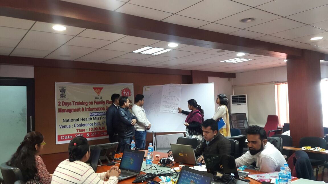 Two-day training on FP-LMIS successfully held in Assam. Streamlined and strengthened supply-chain a priority for the state!