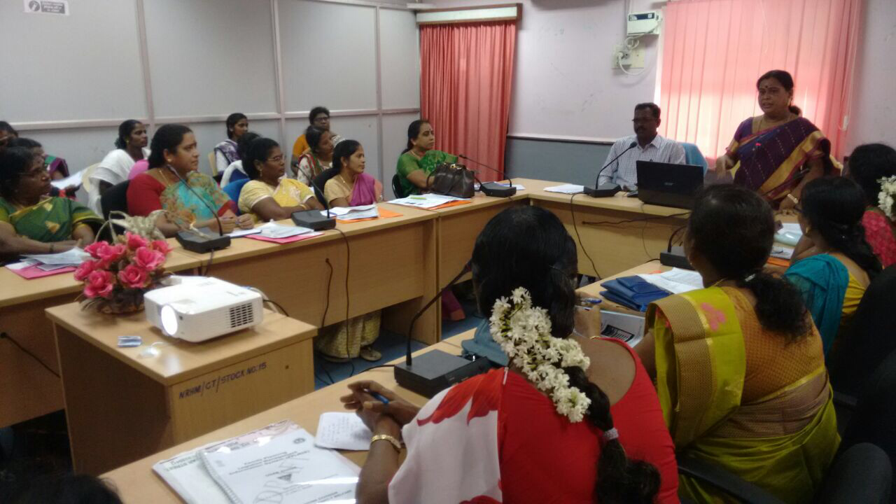 Orientation of LHVs and ANMs on FP-LMIS successfully held in Puducherry. Streamlined and strengthened supply-chain down to the last mile a priority for the state!