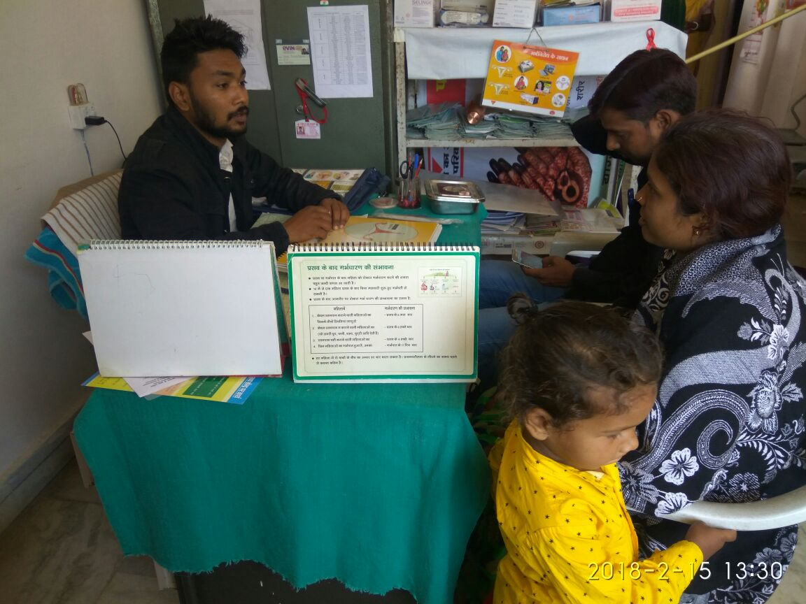 Family Planning counseling undertaken as part of a special ANC drives in Hazaribad, Simdega and Deoghar districts, Jharkhand.