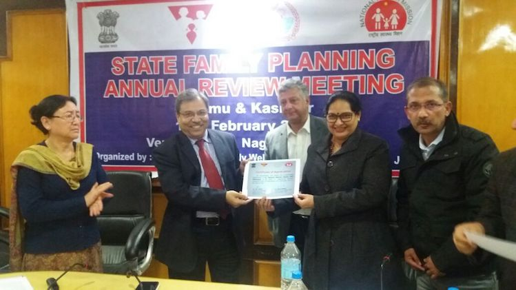 Annual State Family Planning (FP) review meeting concludes at Nagrota, Jammu. Highlights include addressing discrepancies with regard to HMIS data and focus on improving FP indicators in the state.