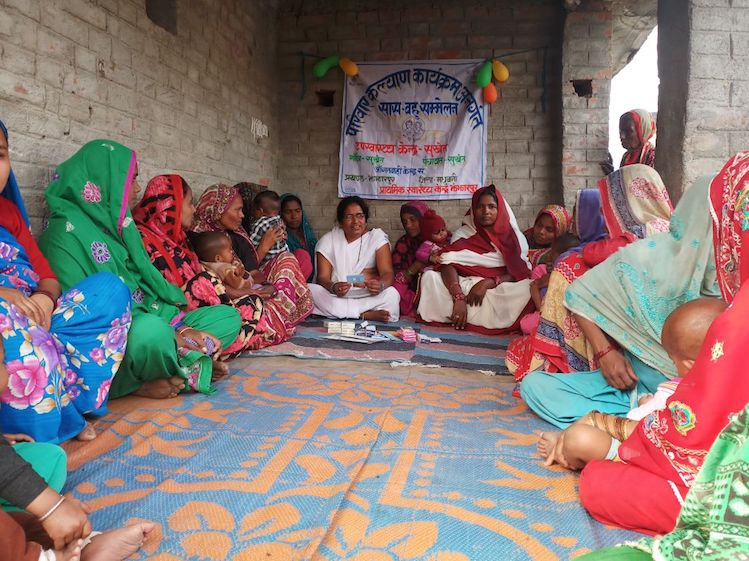 Bihar continues to promote active participation of young women & their MILs in Saas Bahu Sammelans, to openly discuss family planning and sexual reproductive health matters ; this time in Vaishali and Madhubani districts.