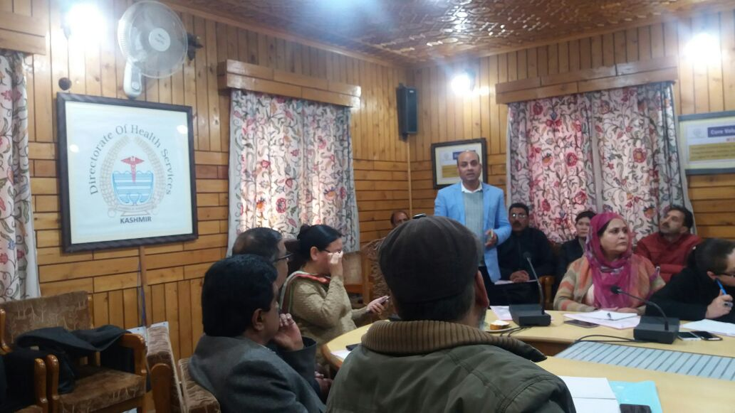 Two-days divisional level training on FPLMIS successfully comes to a close in Srinagar, J&K.