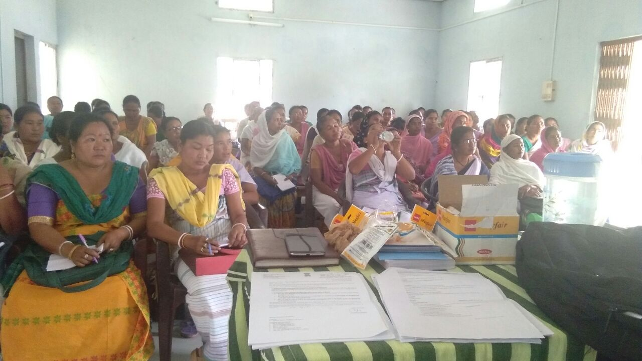 Assam recently undertook block level training on family planning methods especially new contraceptives for ASHAs at Chirang and Gopalbara district.