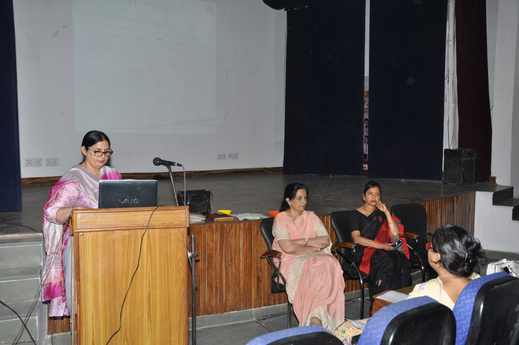 Medical Officers in Chandigarh, Punjab recently participated in a Technical Resource Group meeting on Oral Pills.
