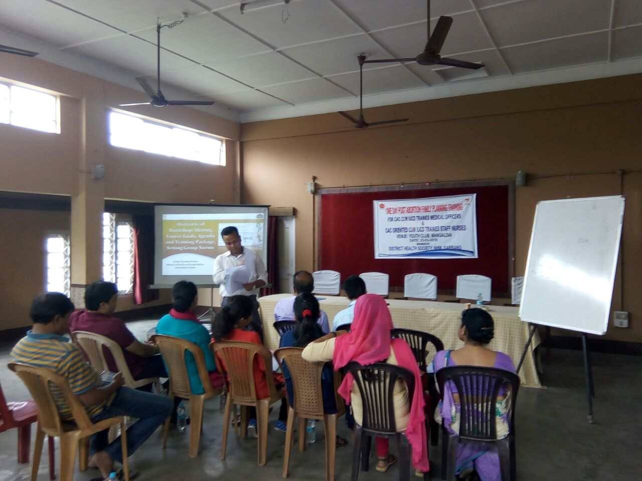 Assam holds training on Post abortion Family Planning  for Medical Officers at Darrang district.