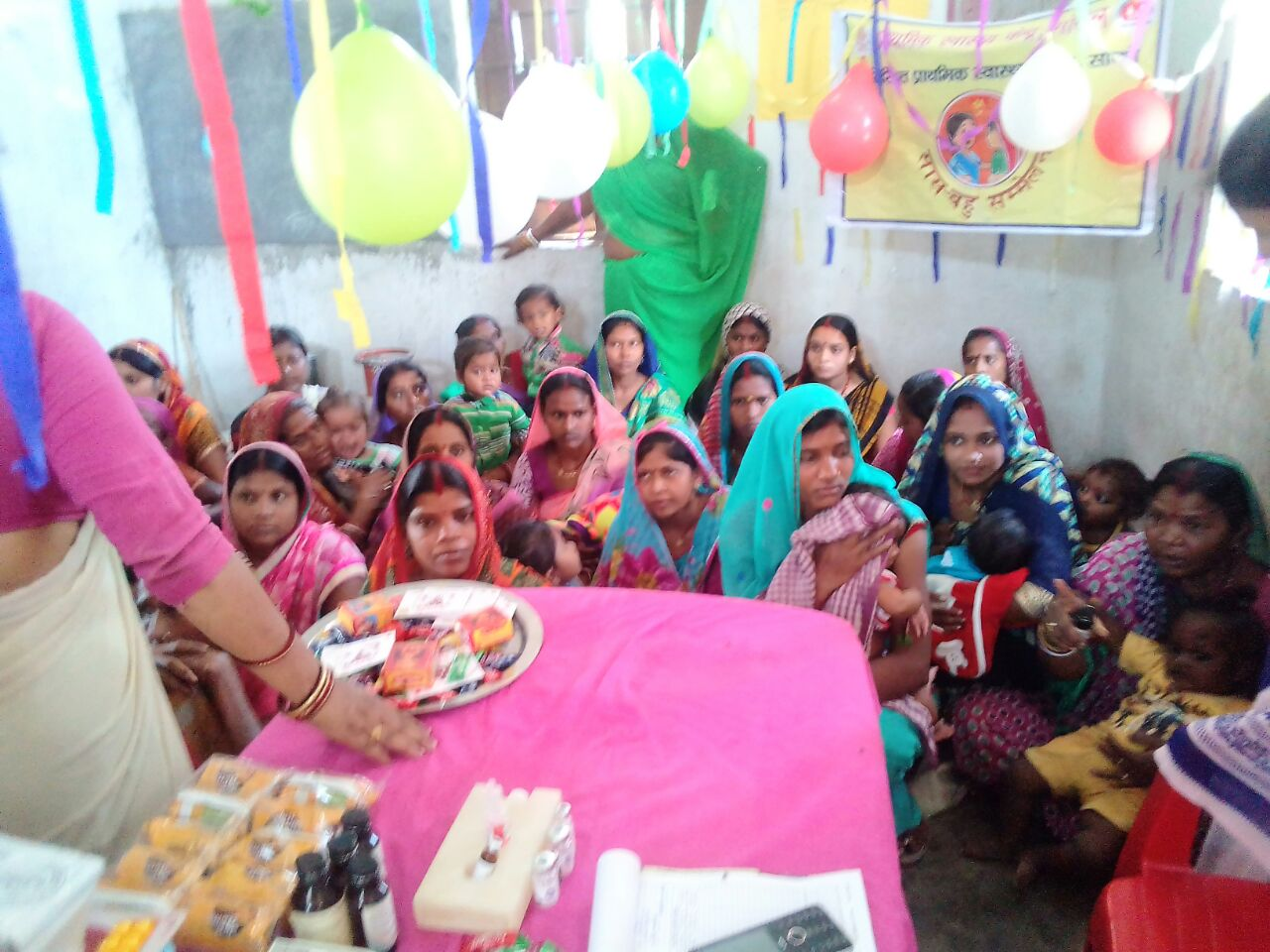 Another district in Bihar successfully holds Saas Bahu Sammelan – this time in Nawada.