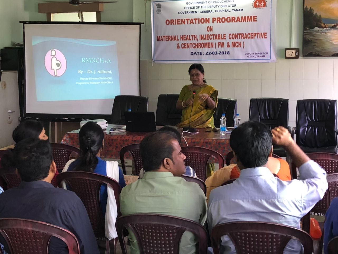 New contraceptive training successfully completed at Yanam district, Puducherry.
