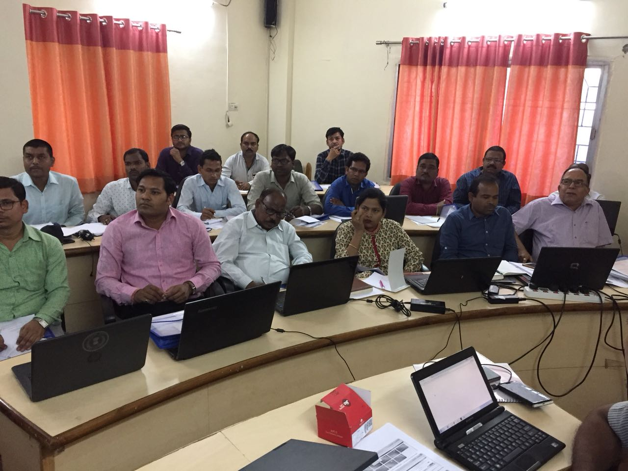 FPLMIS training successfully concludes in Raipur, Chhattisgarh.