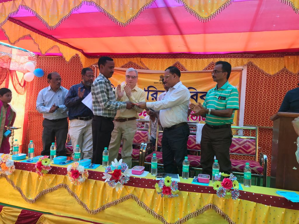 Phase 4 of Mission Parivar Vikas launched at Karimganj district, Assam. Deputy Commissioner, Karimganj & other key officials from district health department along with PRI members & media persons attend the event.