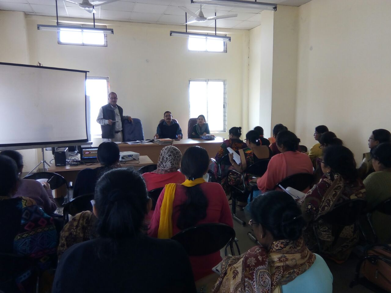 ANMs, Staff Nurses and LHVs in Darrang district, Assam underwent training on new contraceptives.