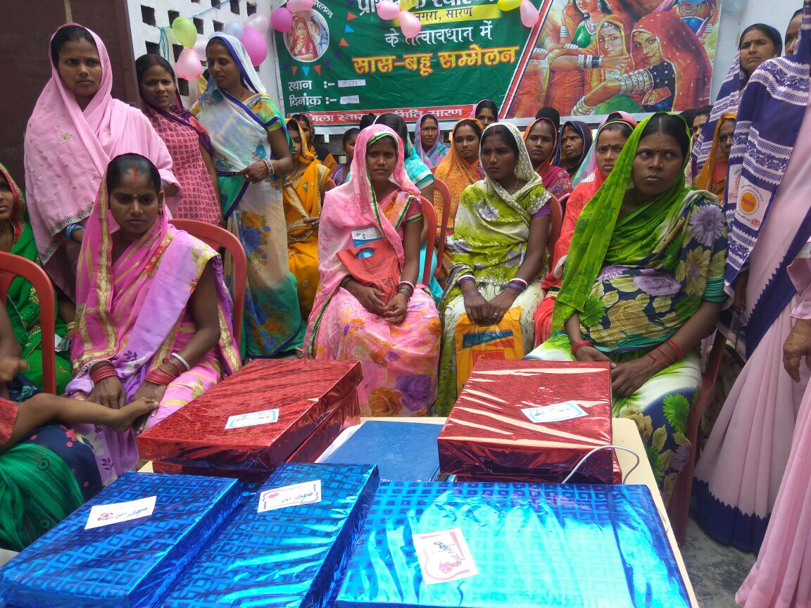 Bihar leaves no stone unturned to push forth activities under Mission Parivar Vikas - from organizing Saas Bahu Sammelans in Saran, to distributing Nayi Pehel kits to newlyweds in Begusarai, to promoting new contraceptives in Supaul.