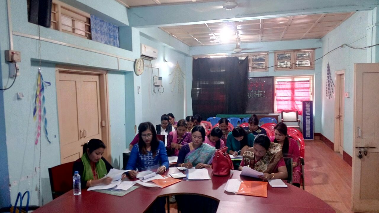 Two-day training of staff nurses on new contraceptives comes to a successful close in Manipur.