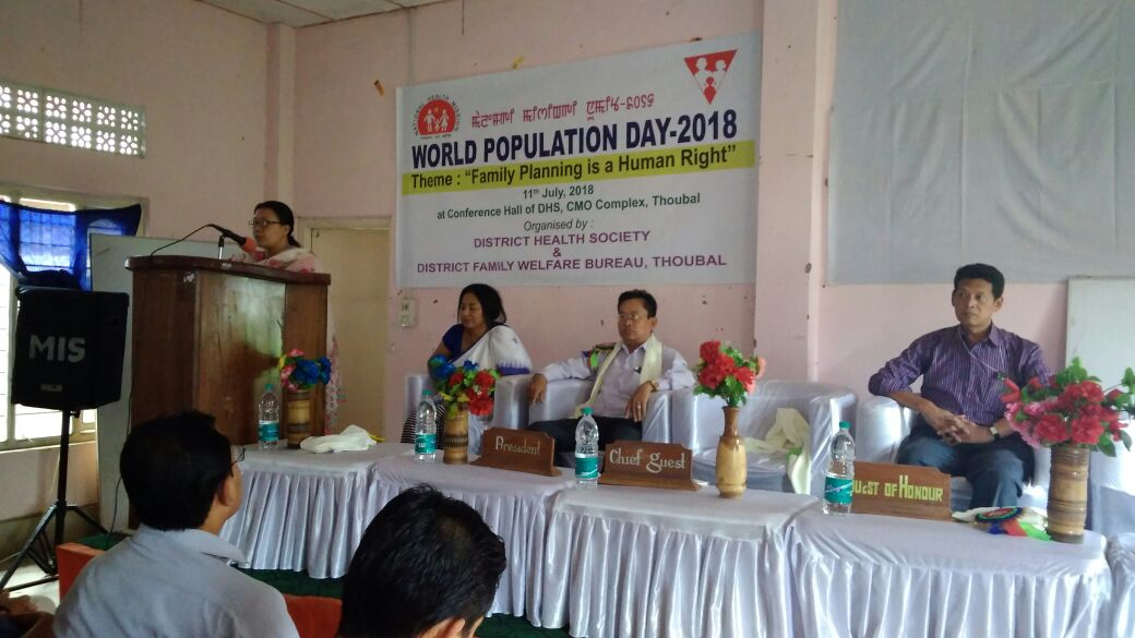 Population Stabilization Fortnight activities on in full-swing at Manipur as state gears up to make Family Planning a priority